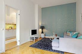 White Walls Clean by Small Pillows Single White Sofa Television On The White Wall Small