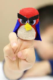 diy superhero finger puppet kit for entertaining sick kids