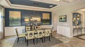 contemporary dining room with travertine tile floors u0026 chandelier