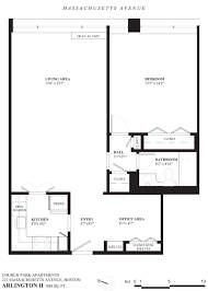Arlington House Floor Plan by Boston Apartment Pricing U0026 Floor Plans Church Park Apartments