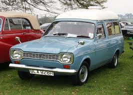 file ford escort mki based van used for a seriously compact