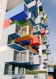 skyscraper built using shipping containers for slum dwellers