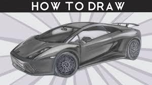 sketch of lamborghini gallardo how to draw a lamborghini gallardo superleggera by
