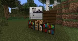 wood varied bookshelves suggestions minecraft java edition