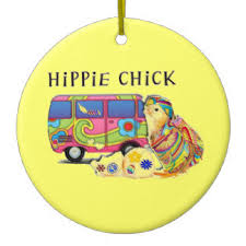 hippie ornaments u0026 keepsake ornaments zazzle