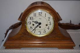 Linden Mantel Clock Sligh German Westminster Chime Key Wind Mantle Clock Franz Hermle