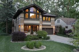 prairie style home modern prairie style homes home building plans 28087