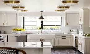 Brass Kitchen Cabinet Hardware Kitchen And Bath Fixtures White Kitchen With Brass Hardware Brass