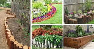 10 splendid wooden garden edging ideas you should see best decor