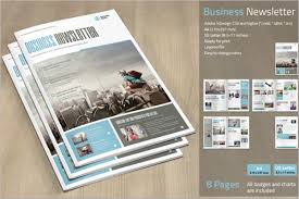 30 business newsletter templates free u0026 premium creative template