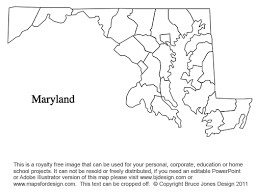 maryland map free geography maryland outline maps