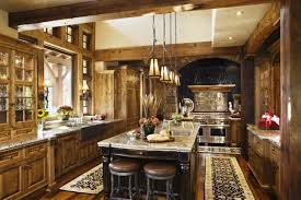Rustic Cabinets Kitchen by Pretty Rustic Kitchen Cabinets Graphicdesigns Co