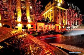 christmas lights illuminate paris alleys vtibet