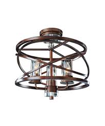 kalco 6605 eternity semi flush mount capitol lighting 1