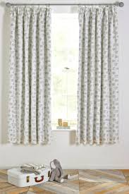 Pencil Pleat Curtains Buy Happy Elephant Blackout Pencil Pleat Curtains From Next Usa
