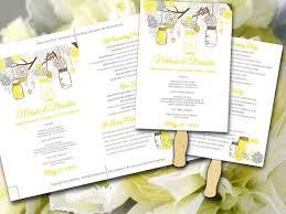 Beach Wedding Program Templates Best 25 Diy Wedding Fans Ideas On Pinterest Diy Wedding Program