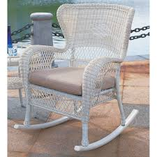 Rocking Chair Runner Sahara All Weather Wicker Rocking Chair Hayneedle