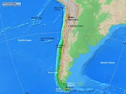 Map Chile Chile Physical Map A Learning Family