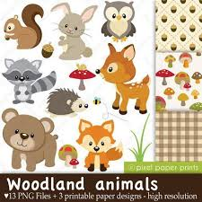woodland creature baby shower free baby woodland animals clipart for your creation