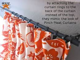 Look On Top Of The Curtain Best 25 Hanging Curtain Rods Ideas On Pinterest How To Hang