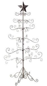 metal tree gold ornament display holder decor 36