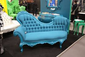 set a fresh and serene ambiance with a blue couch focal point