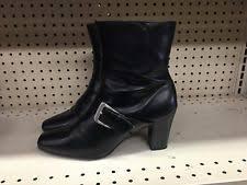 womens black dress boots size 11 predictions s zip boots ebay