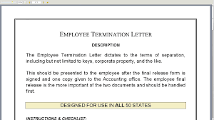 Sample Letter Of Early Termination Of Employment Contract by 100 Friendly Termination Letter Best 20 Formal Letter