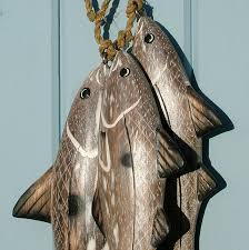 carved wooden fish haddock coastalhome co uk wooden