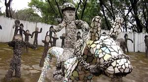 Rock Garden Society by India Chandigarh Famous Rock Garden Tour Creator Nek Chand Youtube