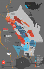 Map From San Francisco To Napa Valley by A Simple Guide To Napa Wine Map Napa Valley Wine Wine And Wine