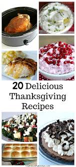 thanksgiving recipes to be in the kitchen