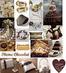 chocolat mariage mariage theme chocolat déco mariage