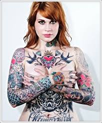 full body tattoo female tattoo collections