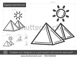 ancient egyptian icons vector download free vector art stock