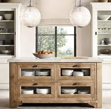 restoration hardware china cabinet restoration hardware salvaged wood marble kitchen console natural