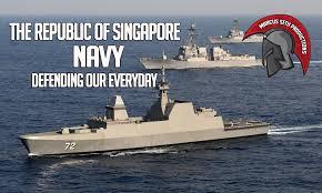 Singapore Navy Flag The Republic Of Singapore Navy Rsn Youtube