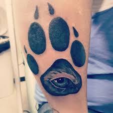 best wolf paw tattoo design ideas 2018