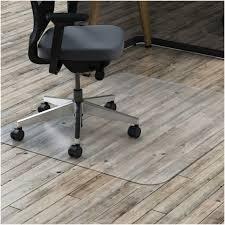 remarkable rectangle transparent vinyl desk chair floor mats