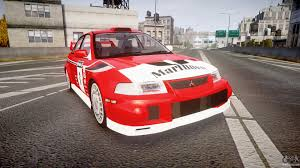 2015 mitsubishi rally car mitsubishi lancer evolution vi 2000 rally for gta 4