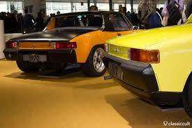 old porsche 914 bremen classic motorshow 2013 vw und porsche bilder classiccult