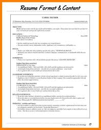 newest resume format types of resume formats inspirational types resume format newest