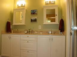 lighting over medicine cabinet bathroom interiordesignew com