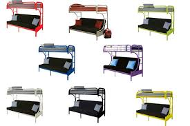 Bunk Bed With Futon On Bottom Furniture Ashley Millennium Coaster Bunkbeds Rugs Lamps Mattresses