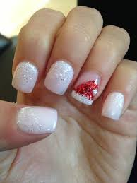 santa inspired acrylic nails hair u0026 beauty pinterest santa