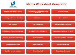 math worksheet creator android apps on google play