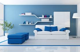 amazing blue grey and purplish home painting design featuring what