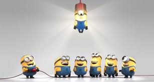 minion monday stand up stand out be the light hardly bored