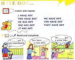 resultado de imagen de verb to have got english grammar