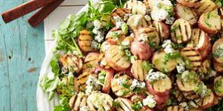 spinach salad with bacon blue cheese and bourbon vinaigrette recipe